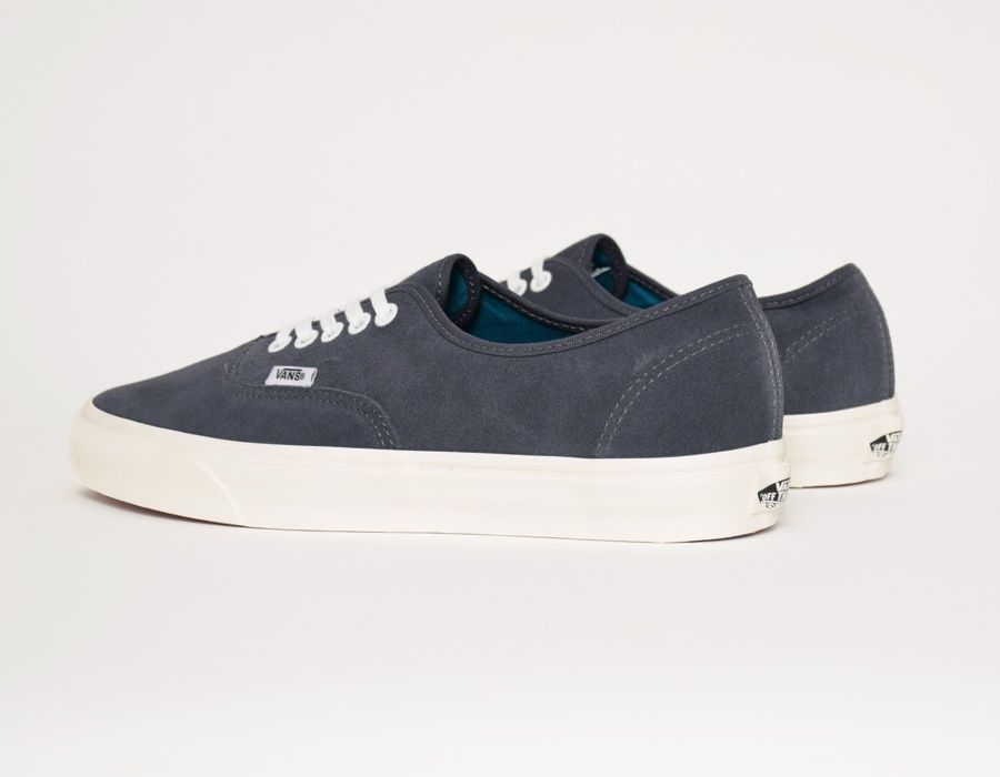 77df174ab5 Vans Authentic Vintage Suede Blue  sneakers