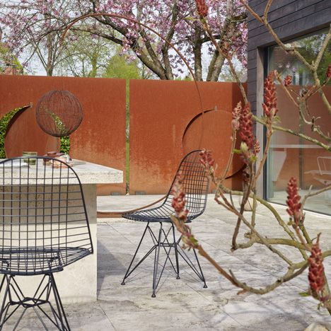Superb Vitra Adapts Eames Wire Chair For Outdoor Use