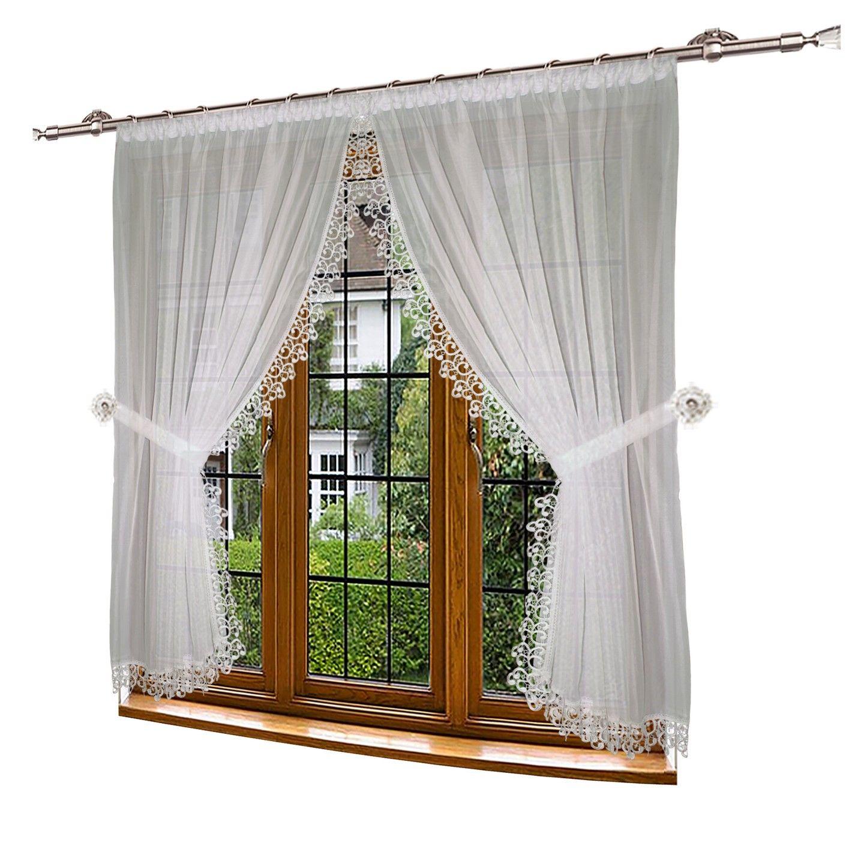 Firana Gotowa Woal Gipiura I115 300x150 Najtaniej 7027723935 Oficjalne Archiwum Allegro Home Decor Decor Home