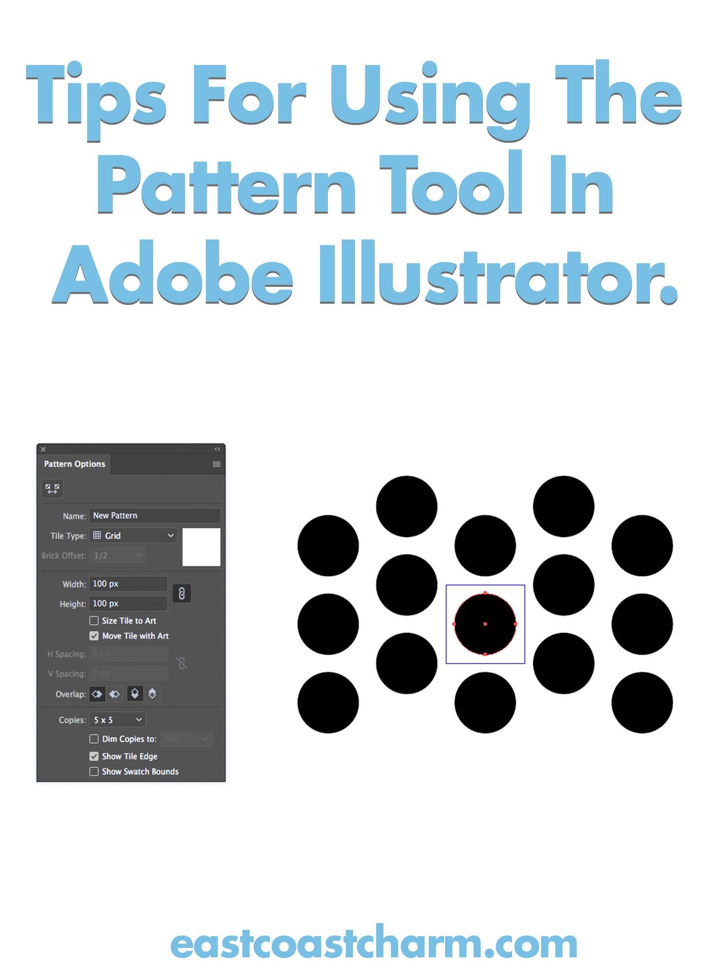 Tips For Using The Pattern Tool In Adobe Illustrator