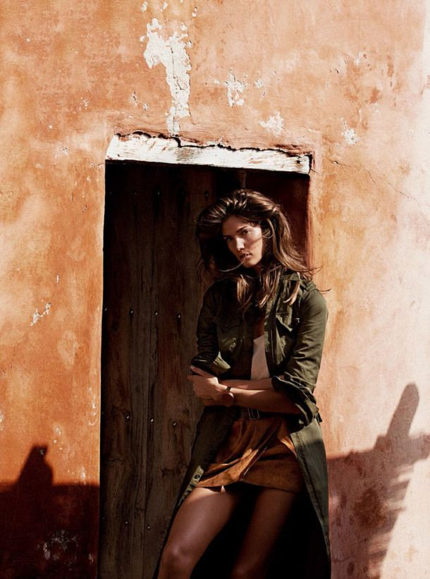 Earth tones    Styling by Sara Fernandez    Vogue Spain Feb 2014
