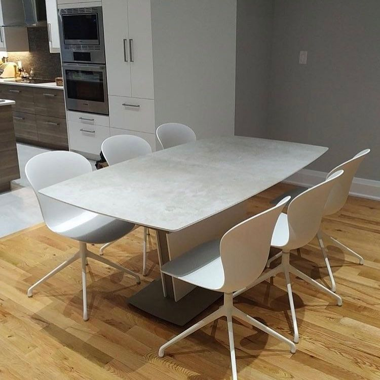 Recent Client Photo Of Their New Milano Table In Our New Ceramic Finish It S Red Wine And Food Resistant Perfect Fo Boconcept Table Boconcept Dinning Table