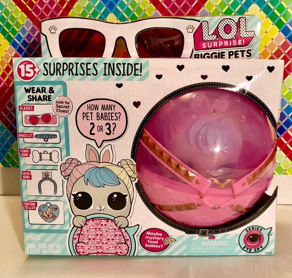Lol Surprise Biggie Pets Pet Hop Hop Eye Spy Series 4 Genuine