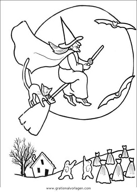 halloweenhexen23 in fantasie gratis malvorlagen
