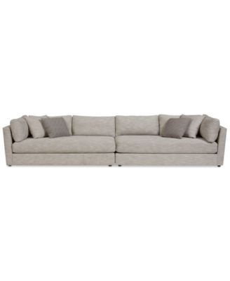 Macy S Sectional Sofa Suede Cleaner Products Leonora 2 Pc With 4 Toss Pillows Only At Macys Com