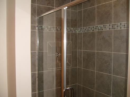 Cultured+marble+shower+walls | Cultured Granite Shower Walls Features:  Tiled Walls