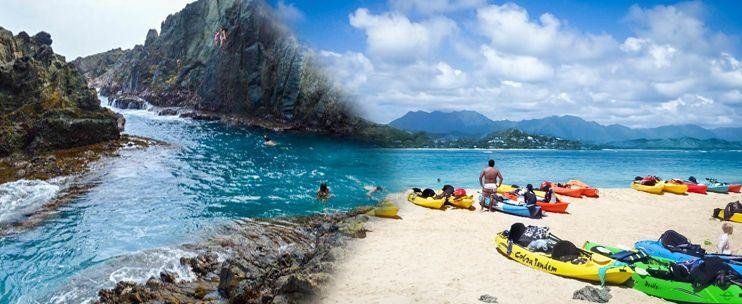 Twogood Kayaks Hawaii - Mokulua Islands Kayak Tour - Hawaii