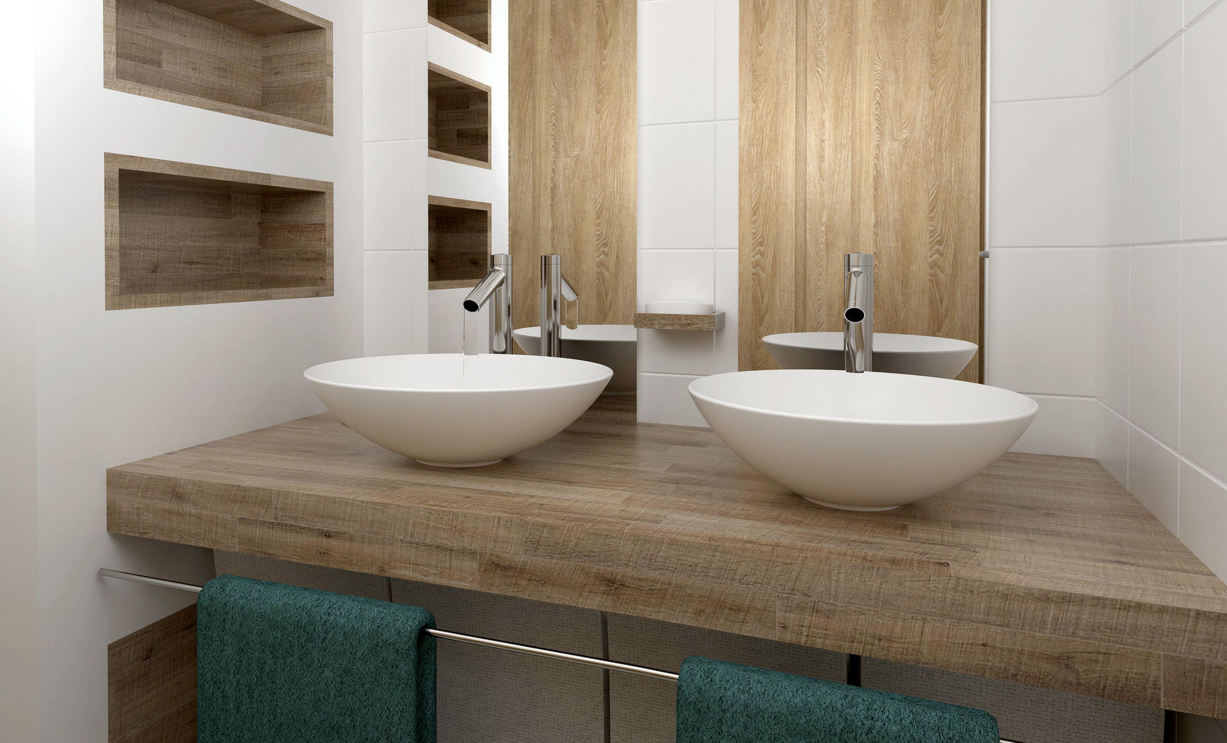 Une rénovation salle de bain intégrale qui donne de la fraîcheur et ...