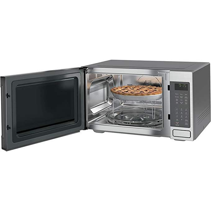 Peb1590smss Ge Profile 1 5 Cu Ft Countertop Convection Microwave Oven Ge Applianc Microwave Wall Mount