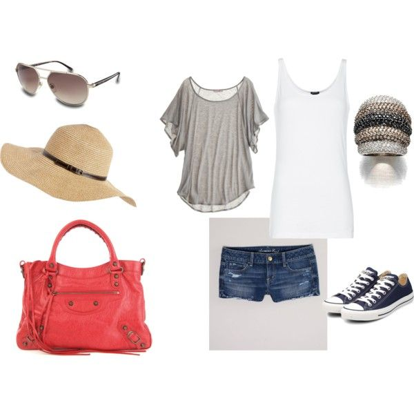 Summer day shopping at outside mall!, created by bella-robin-griner.polyvore.com