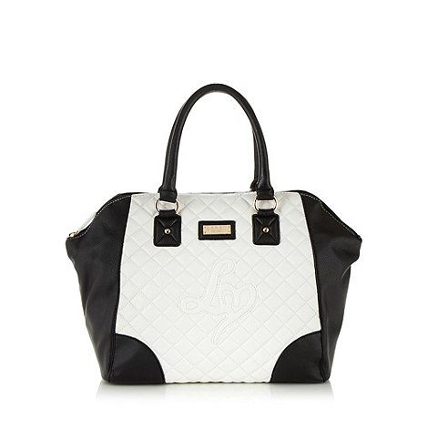 Lipsy White Quilted Tote Bag At