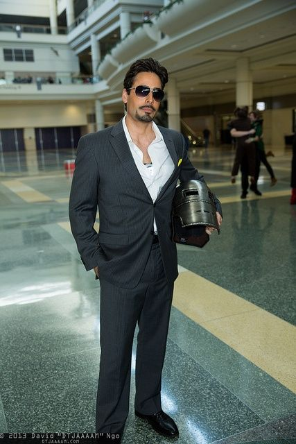 tony stark iron man cool mens halloween costume