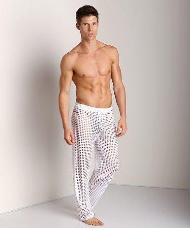 Sexy men · See through lounge pants