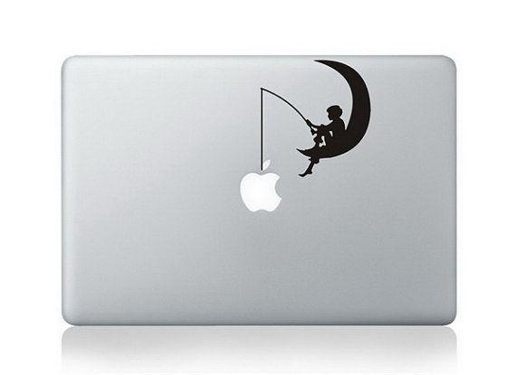 Macbook Decal Macbook Sticker Mac Decals Mac door AppleDecal8, $7.20