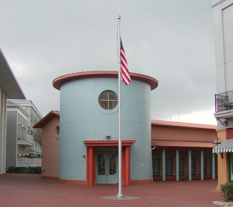 Celebration florida post office designed by michael graves for Architecture companies in florida