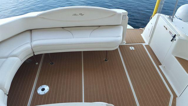 Sc Wake Seadek 2001 Sea Ray 380 Sundancer Boat Teak Peoria