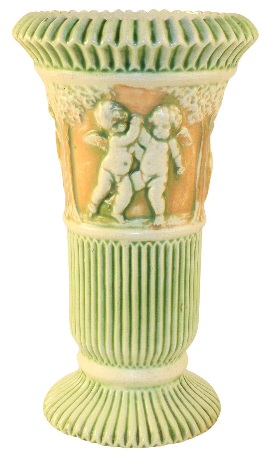 Roseville Pottery Donatello Vase 113-12