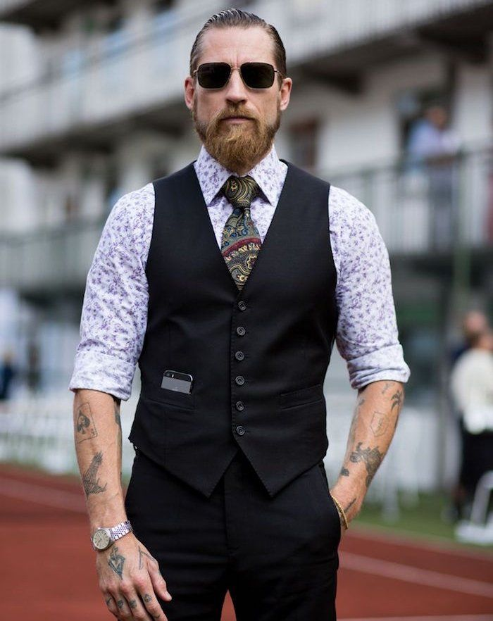 1001 id es hipster beard tattoo pinterest tenue mode homme et tenue de soir e homme. Black Bedroom Furniture Sets. Home Design Ideas