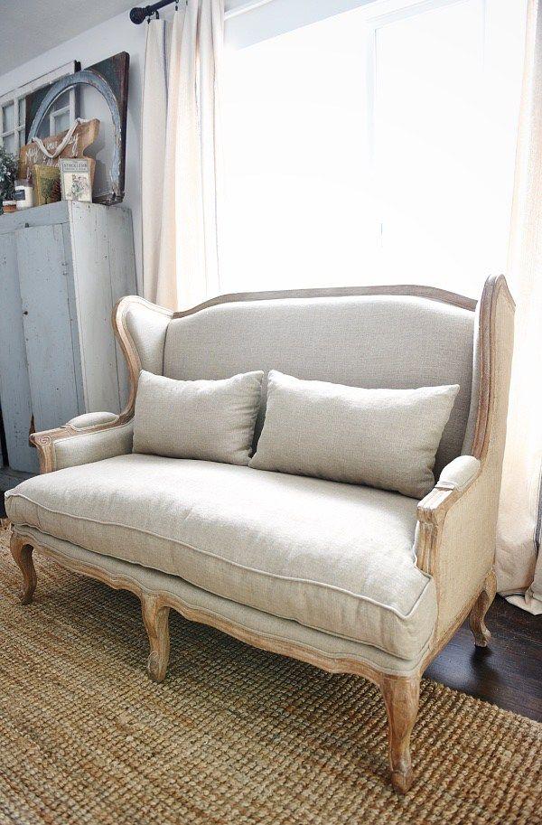 Upstairs Living Room Makeover - New Sofa Sneak Peek ...
