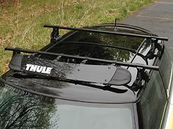Mini Cooper Roof Rack Kit Thule Aero Roof Rack Kit With Fairing Roof Rack Thule Roof Rack Car Roof Racks