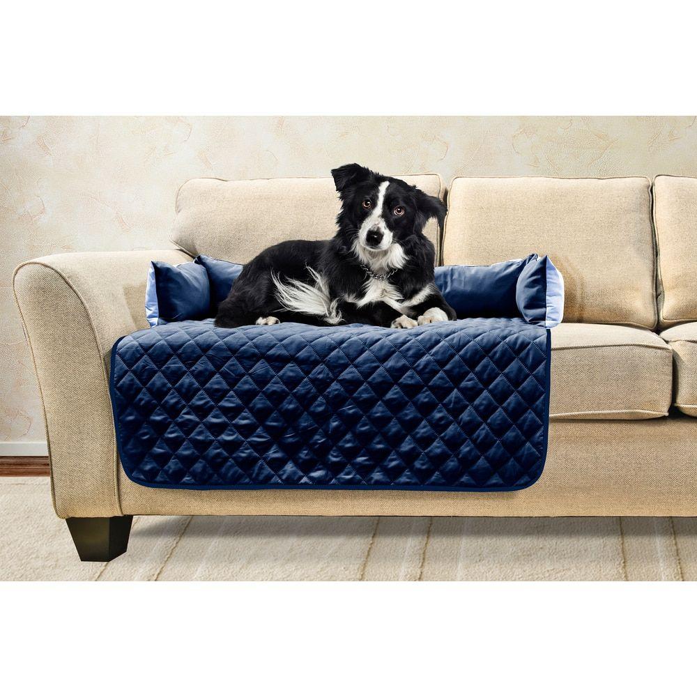 Enjoyable Furhaven Sofa Buddy Pet Bed Furniture Cover Stuff Machost Co Dining Chair Design Ideas Machostcouk