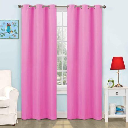Eclipse Kids Dayton Energy Efficient Curtain Walmart Com Energy Efficient Curtains Girls Bedroom Curtains Panel Curtains