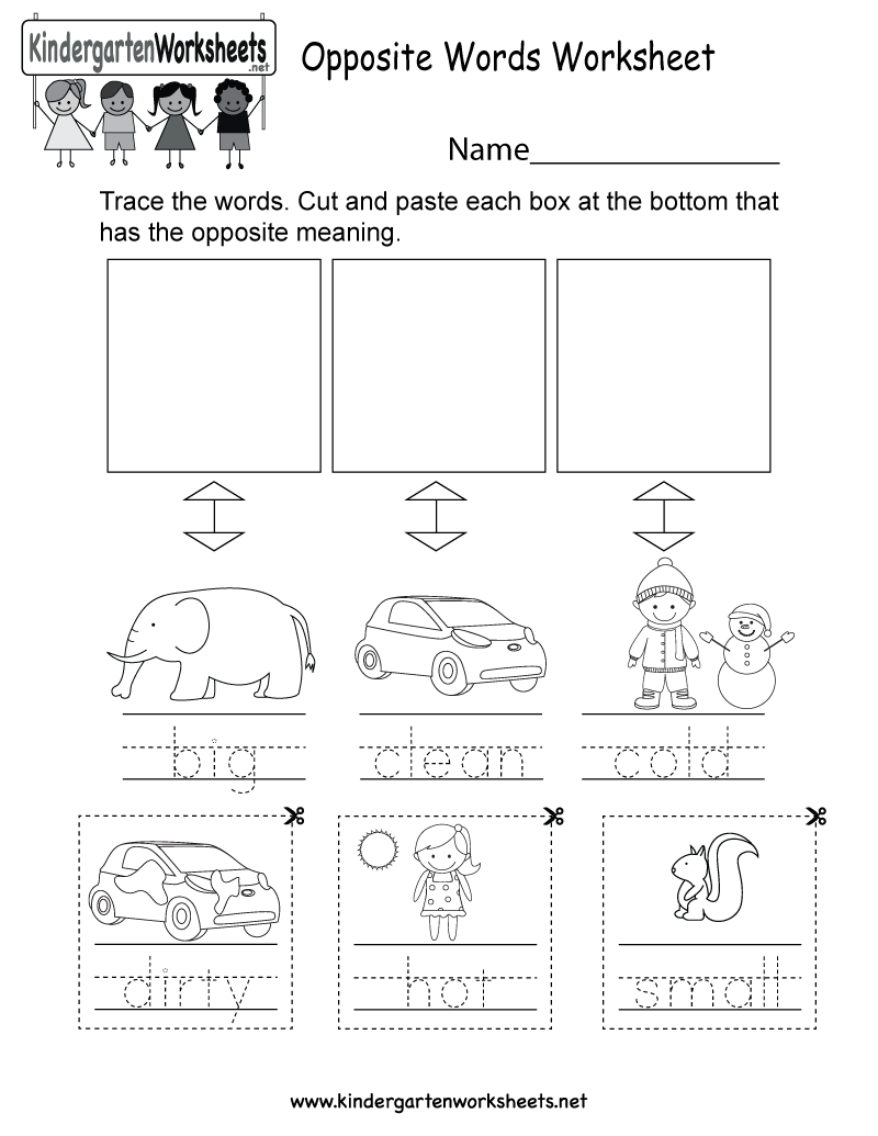 This Is An Opposite Words Worksheet You Can Download, Print, Or Use Fun Worksheets This Is An Opposite Words Worksheet You Can Download, Print, Or Use It Online