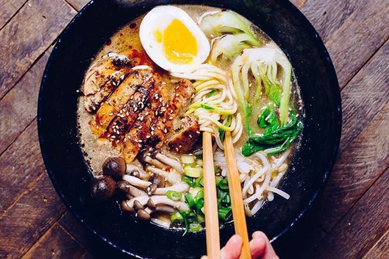 Whole30 Tantanmen Ramen Paleo Keto Easy Recipe Asian