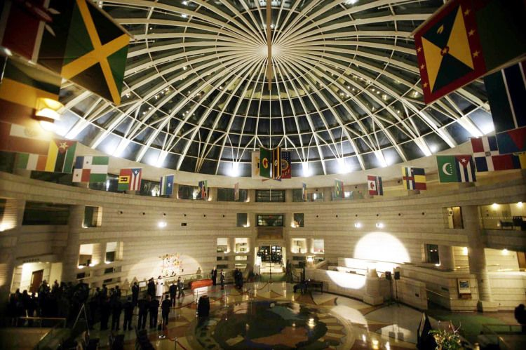 The Rotunda Of Charles H Wright Museum African American History In Detroit