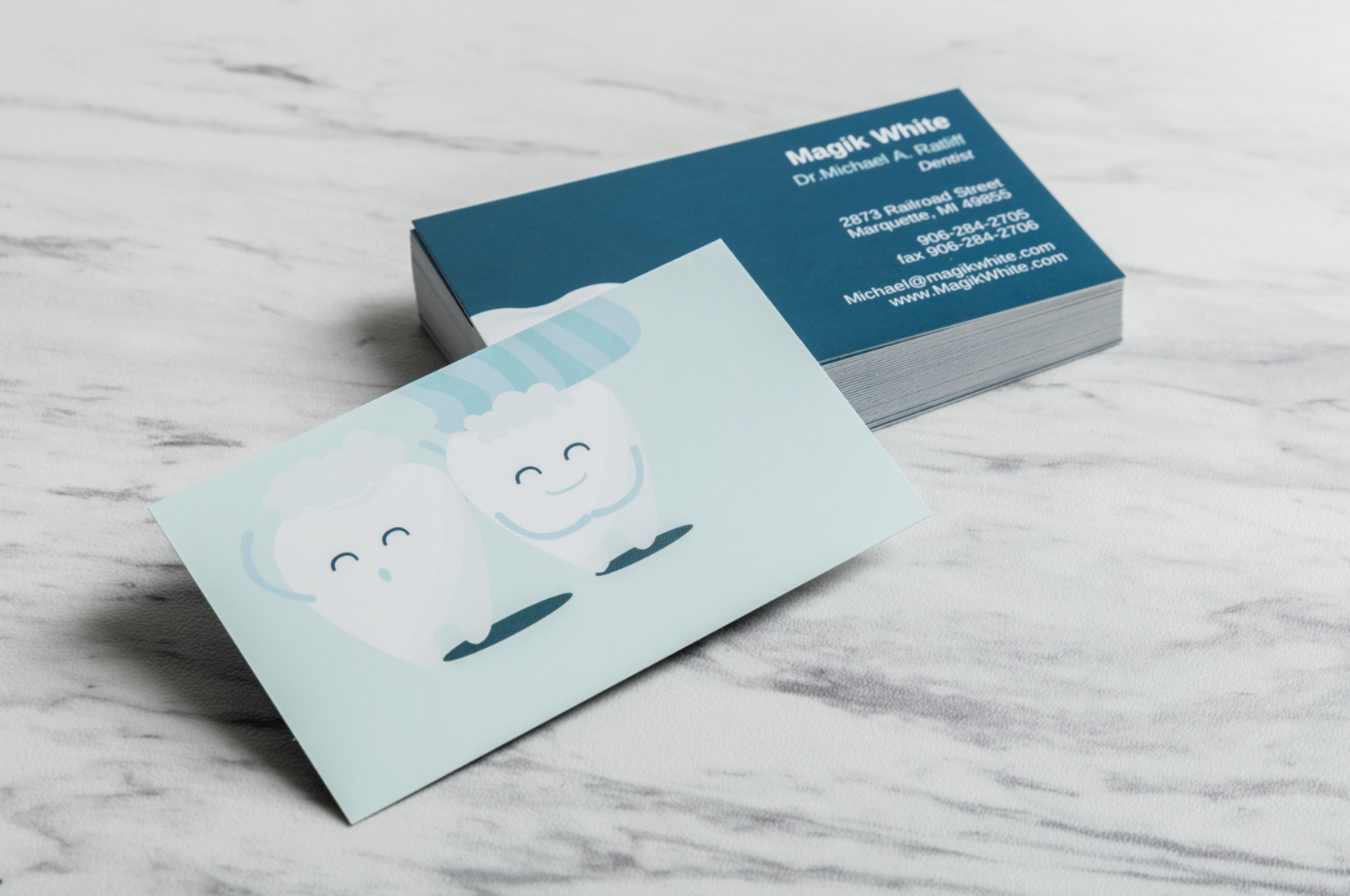 For the dentist. | High quality business cards, Card ...