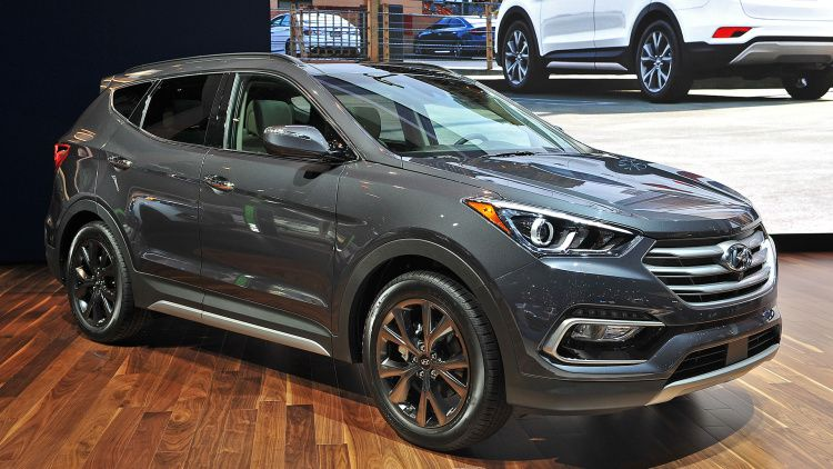 2017 Hyundai Sante Fe Sport Chicago 2016 Photo Gallery