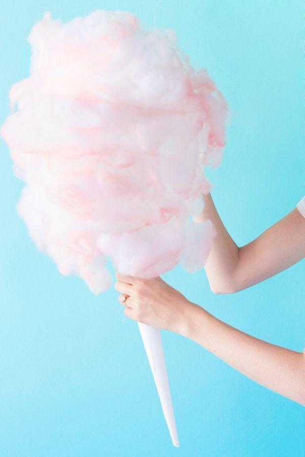 DIY Cotton Candy Piñata | studiodiy.com
