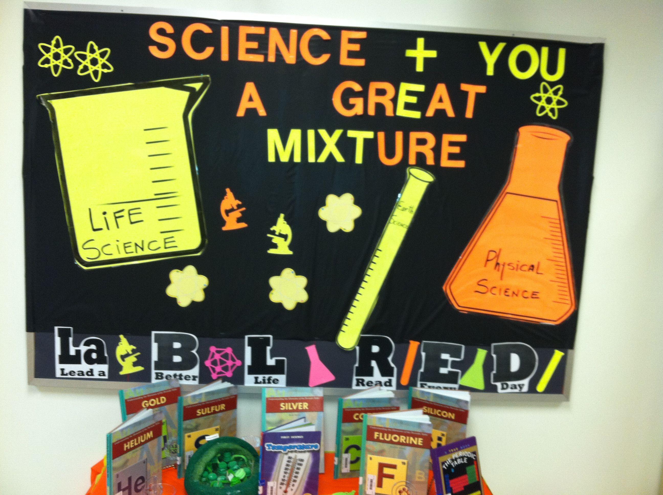 Bulletin Board Science Classroom Decorations Science Bulletin