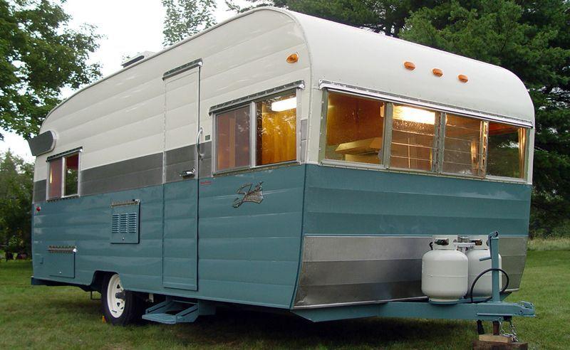 Sold 1964 Shasta Model Twenty Restored Reboques E Look