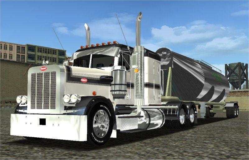 American Truck Simulator - Peterbilt 359 classic mods | A