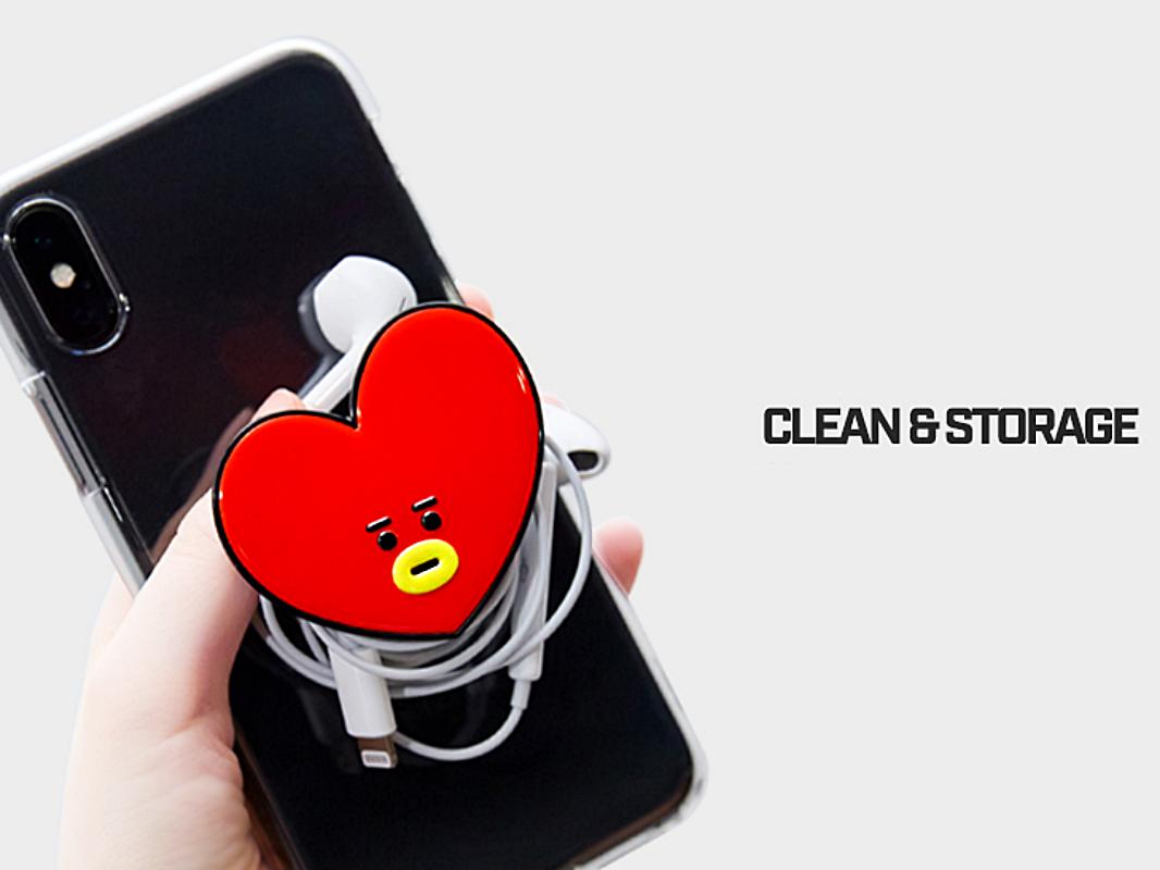 a237550d5e0 Details about BTS BT21 Official Merchandise Smart Cell Phone Holder ...