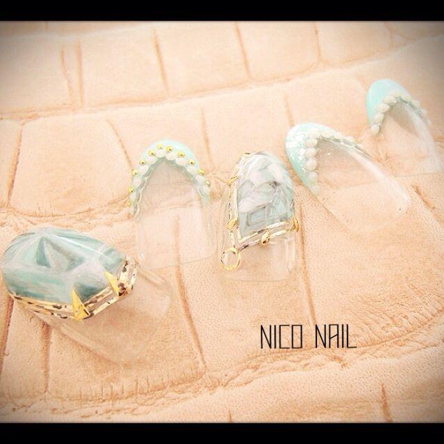 かわいいネイルを見つけたよ♪ #nailbook