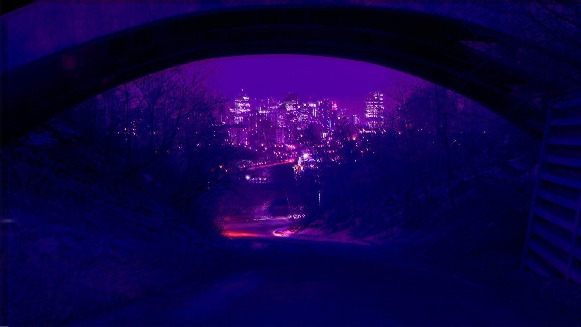Pin On Wallpaper Neon Wallpaper Aesthetic Desktop Wallpaper Aesthetic Wallpapers Dark purple aesthetic computer wallpaper