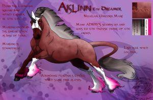 Prize: Aislinn ref sheet by WSTopDeck