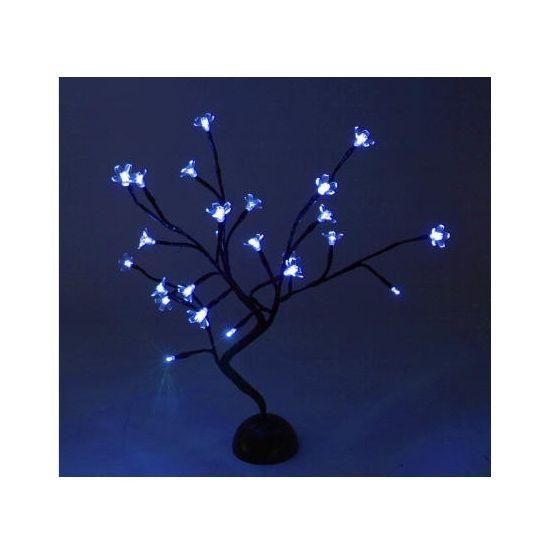 Dit zwarte decoratie boompje is gemaakt van kunststof en heeft aan ...
