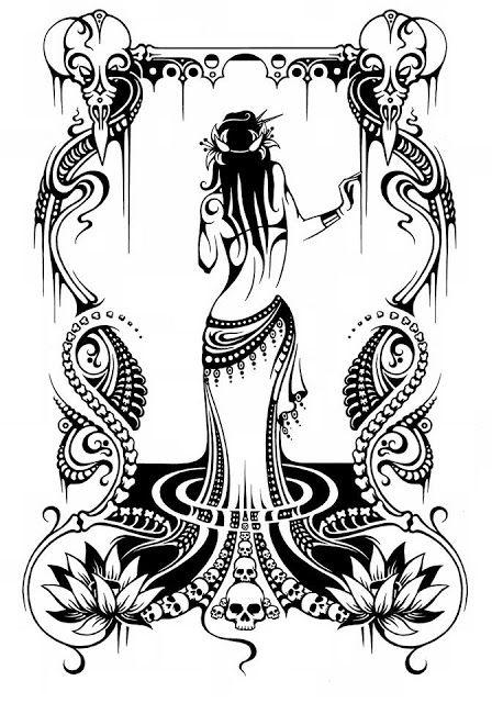 Ariellah Hoodies Belly Dance Tribal Art Tribal Fusion Bellydance