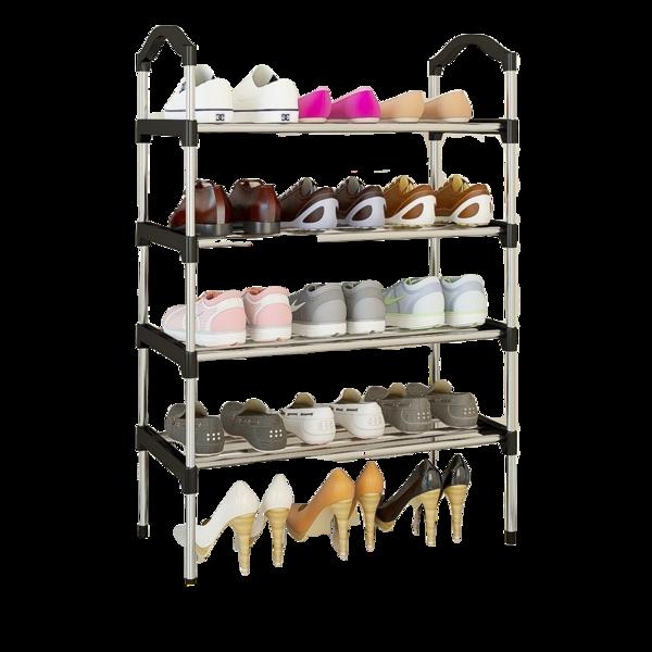 Rohr Meuble Chaussures Grande Capacite 4 Etages Noir En 2020 Meuble Chaussure Meuble Chaussure Design Meuble