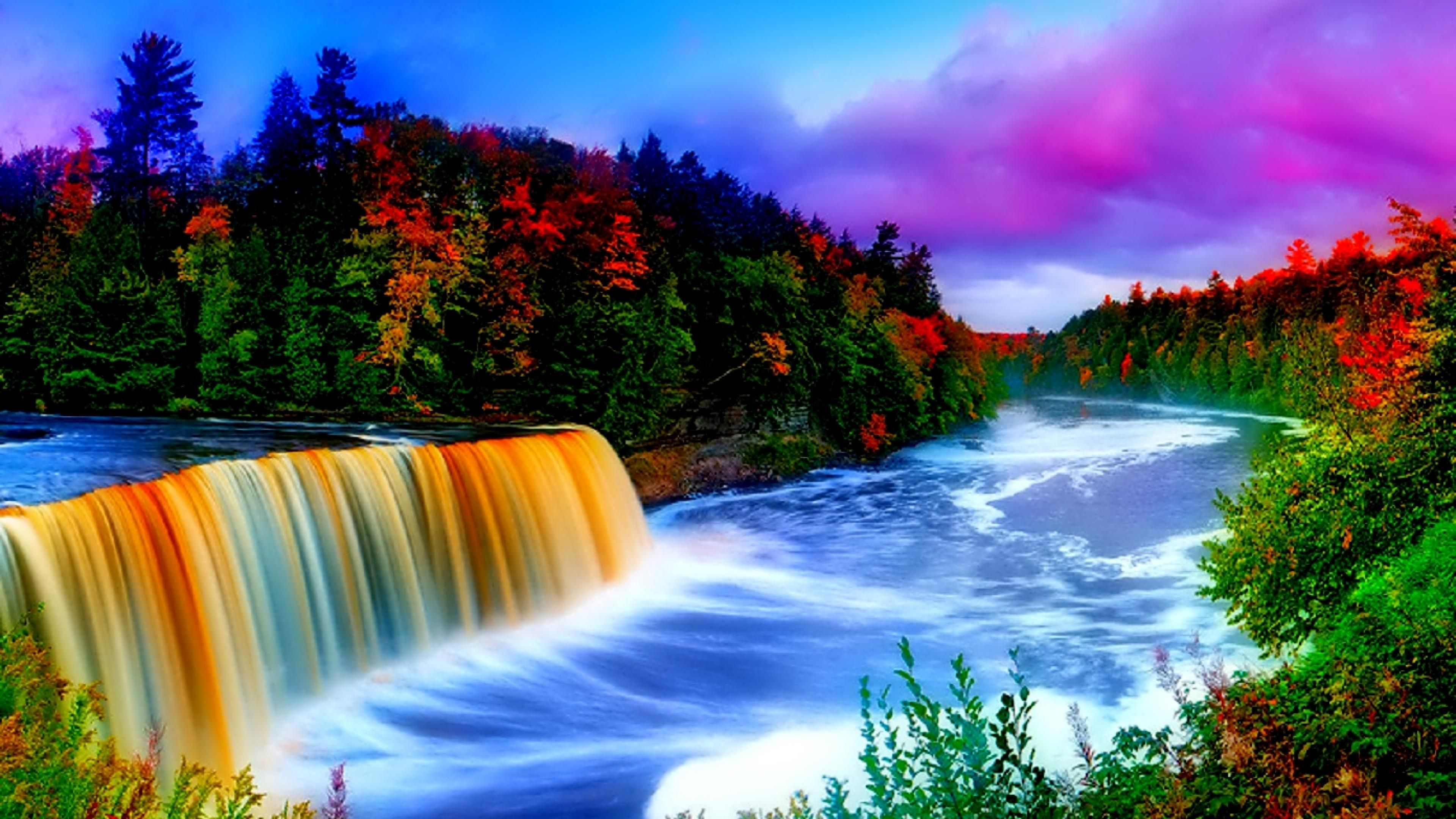 click here to download in hd format >> nature waterfall hd