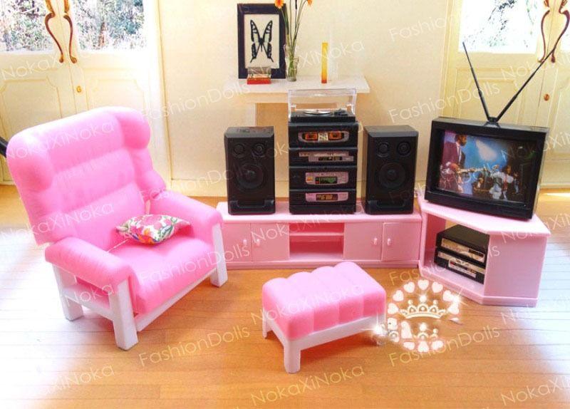 Sala da Barbie | 80´s and 90´s stuff | Pinterest | Infancia