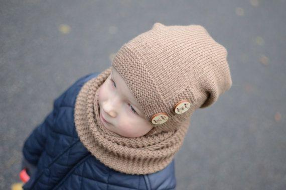 b1a139731c0 Brown Toddler Slouchy Beanie