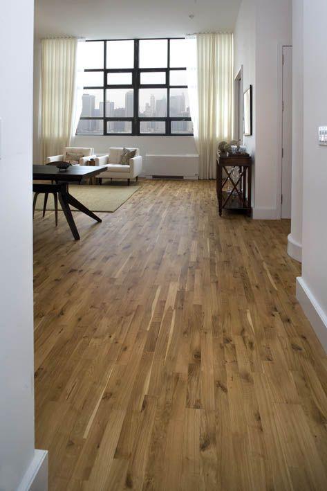 Junckers Oak Variation Solid Wood Floor A More Rustic Look With