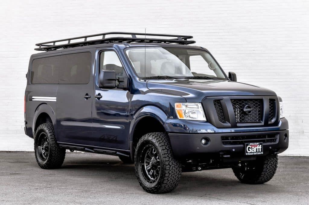 Ken Garff Nissan >> NV Passenger 4x4 Conversion | Nissan vans, Nissan, 4x4 van