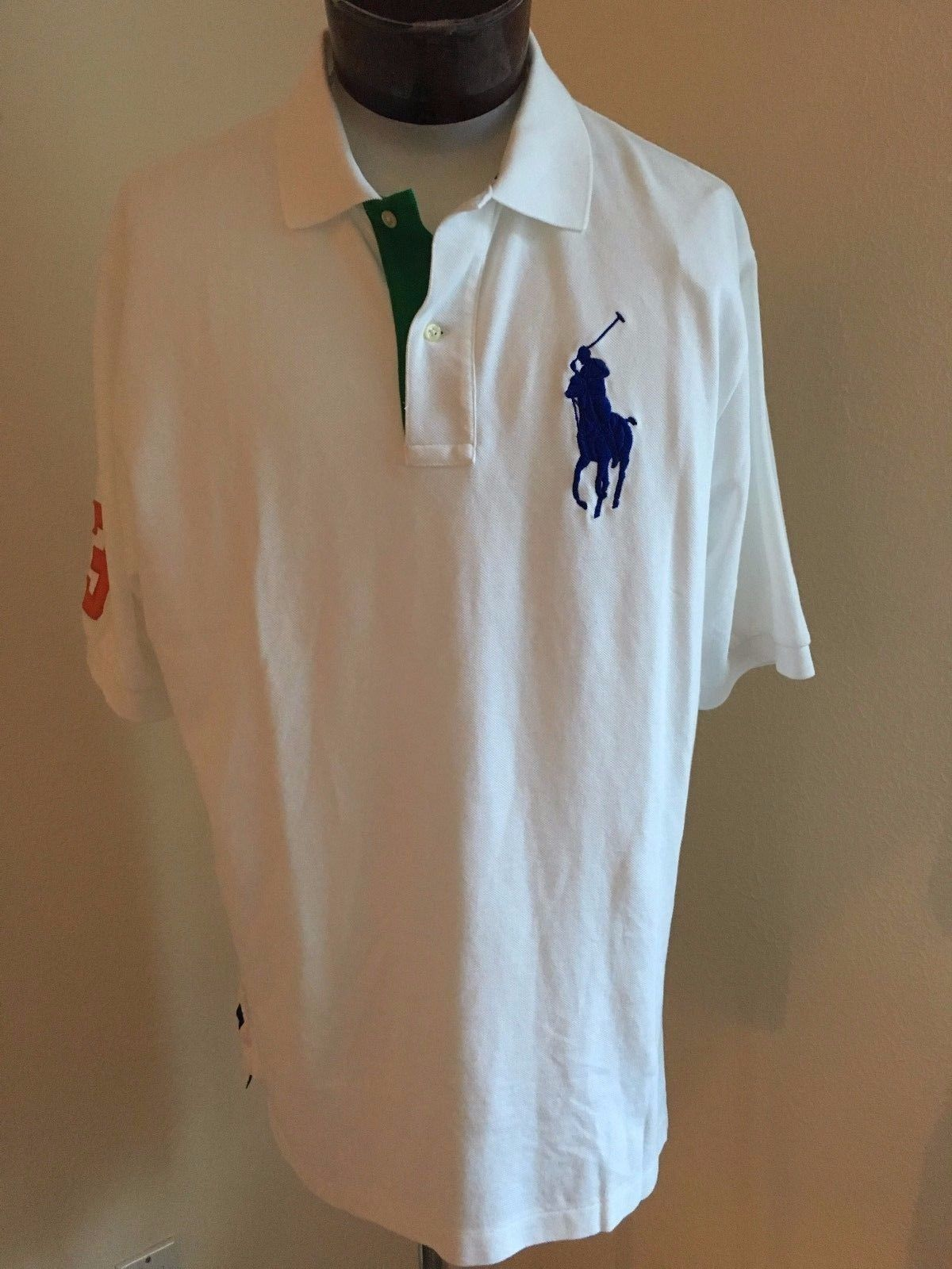 Mens Polo Shirts Large Tall Summer Cook