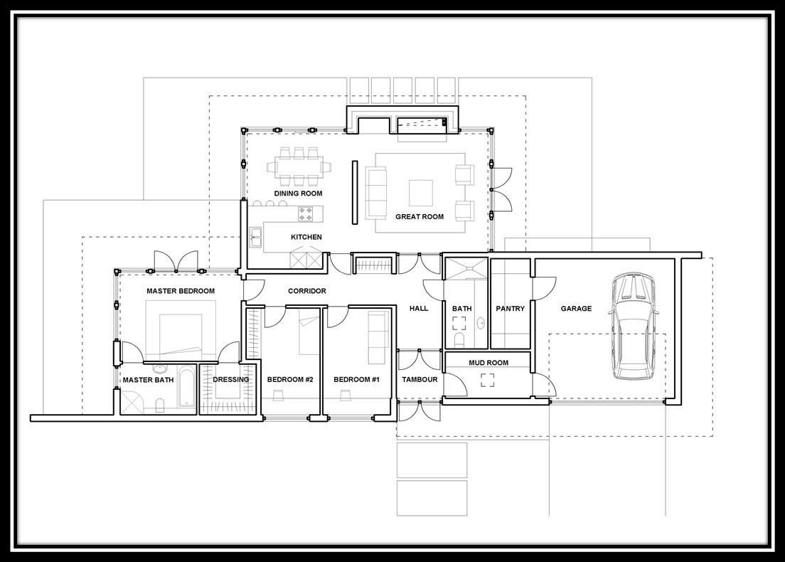 House Modern One Story House Plans Modern One Story House Plans Single Storey House Plans Modern Style House Plans Contemporary House Plans