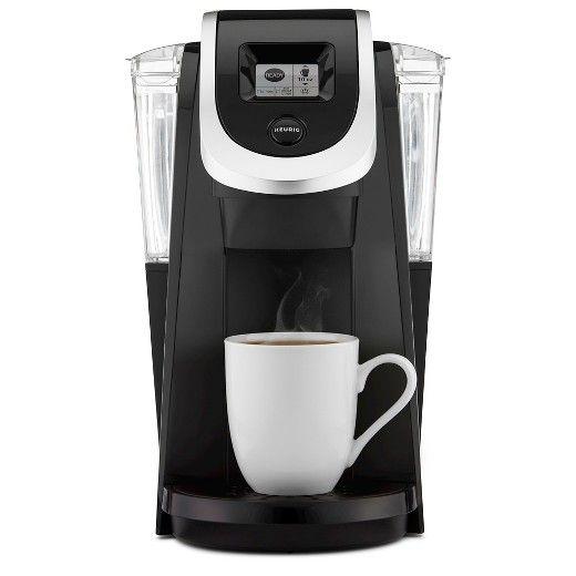 Keurig 2 0 K200 Coffee Maker Brewing System Target Pod Coffee Makers Single Cup Coffee Maker Single Serve Coffee Makers K cup and coffee maker combo